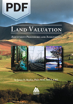 Land Valuation: Adjustment Procedures and Assignments - PDF