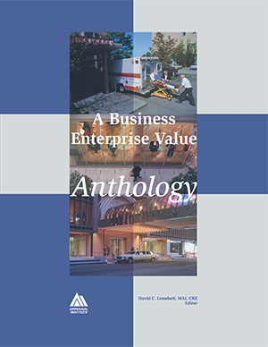 A Business Enterprise Value Anthology, 2001 edition