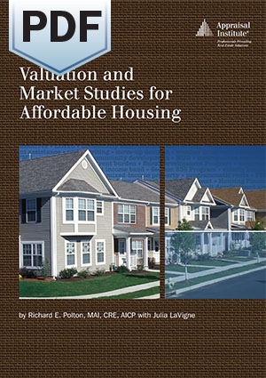 Valuation and Market Studies for Affordable Housing - PDF