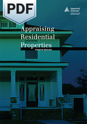 Appraising Residential Properties, Fourth Edition - PDF