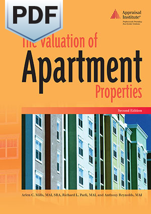 The Valuation of Apartment Properties, Second Edition - PDF