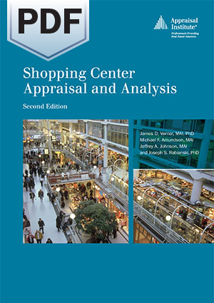 Shopping Center Appraisal and Analysis, second edition - PDF