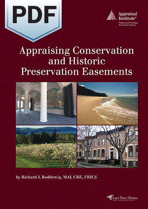Appraising Conservation and Historic Preservation Easements - PDF