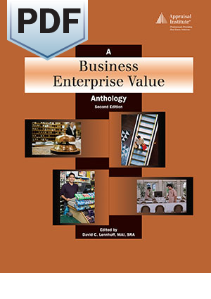 A Business Enterprise Value Anthology, second edition - PDF