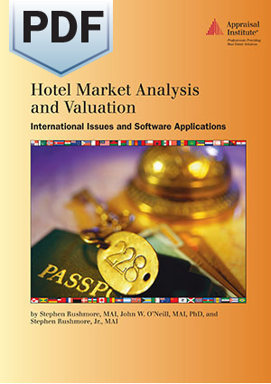 Hotel Market Analysis and Valuation: International Issues and Software Applications - PDF
