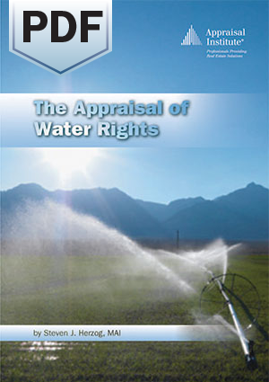 The Appraisal of Water Rights - PDF