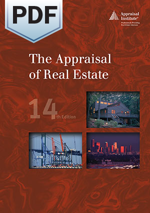 The Appraisal of Real Estate, 14th Edition - PDF