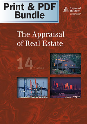 The Appraisal of Real Estate, 14th ed. - Print + PDF Bundle