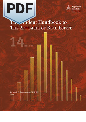 The Student Handbook to The Appraisal of Real Estate, 14th Edition - PDF