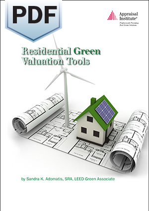 Residential Green Valuation Tools - PDF