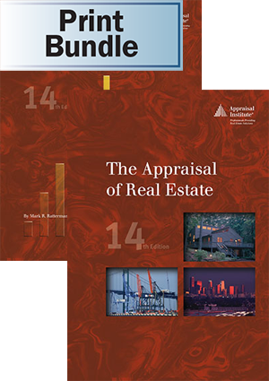 The Appraisal of Real Estate, 14th ed. + The Student Handbook - Print Bundle