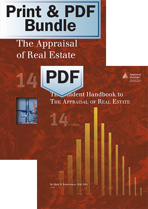 The Appraisal of Real Estate, 14th ed. - Print + The Student Handbook - PDF Bundle