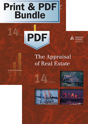 The Appraisal of Real Estate, 14th ed. - PDF + The Student Handbook - Print Bundle