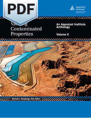 Valuing Contaminated Properties: An Appraisal Institute Anthology, Volume II - PDF