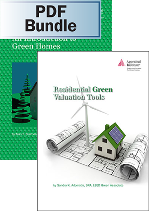 An Introduction to Green Homes + Residential Green Valuation Tools - PDF Bundle