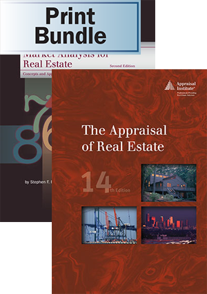 Market Analysis for Real Estate, 2nd ed. + The Appraisal of Real Estate, 14th ed. - Print Bundle