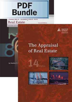 Market Analysis for Real Estate, 2nd ed. + The Appraisal of Real Estate, 14th ed. - PDF Bundle