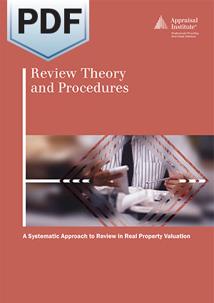 Review Theory and Procedures: A Systematic Approach to Review in Real Property Valuation - PDF