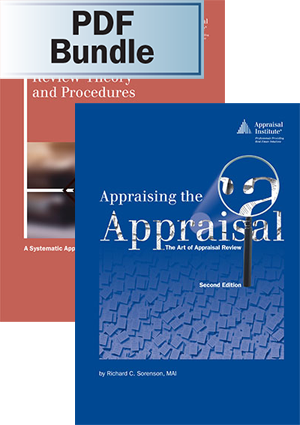 Review Theory and Procedures + Appraising the Appraisal, 2nd ed. - PDF Bundle