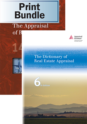 The Appraisal of Real Estate, 14th ed. + The Dictionary of Real Estate Appraisal, 6th ed. - Print Bundle