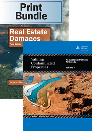 Real Estate Damages, 3rd ed. + Valuing Contaminated Properties, Volume II - Print Bundle