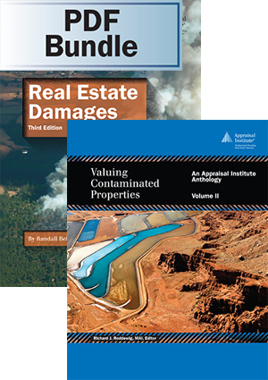 Real Estate Damages, 3rd ed. + Valuing Contaminated Properties, Volume II- PDF Bundle