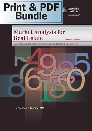 Market Analysis for Real Estate, 2nd ed. - Print + PDF Bundle