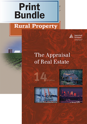 Rural Property Valuation + The Appraisal of Real Estate, 14th ed.- Print Bundle