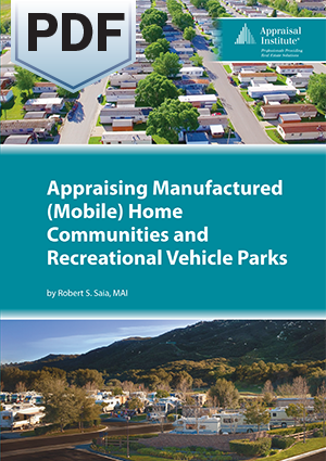Appraising Manufactured (Mobile) Home Communities and Recreational Vehicle Parks - PDF
