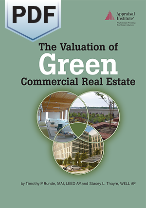 The Valuation of Green Commercial Real Estate - PDF
