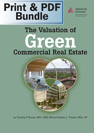 The Valuation of Green Commercial Real Estate - Print + PDF Bundle