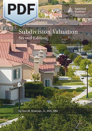 Subdivision Valuation, Second Edition - PDF