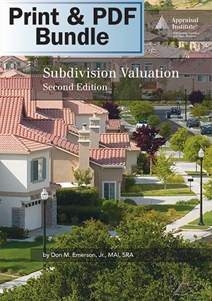 Subdivision Valuation, 2nd ed. - Print + PDF Bundle