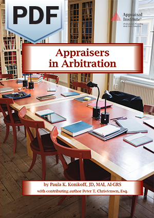 Appraisers in Arbitration - PDF