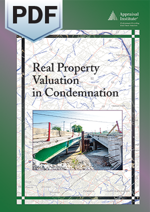 Real Property Valuation in Condemnation - PDF