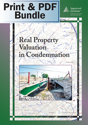 Real Property Valuation in Condemnation - Print + PDF Bundle