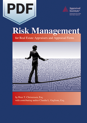 Risk Management for Real Estate Appraisers and Appraisal Firms - PDF