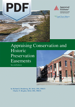 Appraising Conservation and Historic Preservation Easements, Second Edition - PDF