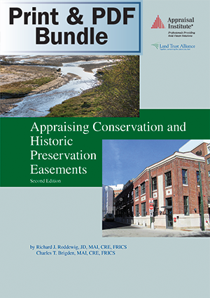 Appraising Conservation and Historic Preservation Easements, Second Edition - Print + PDF Bundle