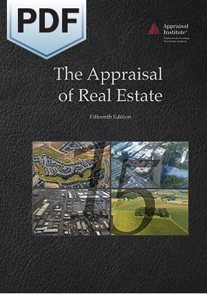 The Appraisal of Real Estate, 15th Edition - PDF