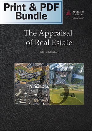 The Appraisal of Real Estate, 15th Ed. - Print + PDF Bundle