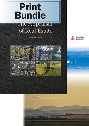 The Appraisal of Real Estate, 15th Ed. + The Dictionary of Real Estate Appraisal, 6th Ed. - Print Bundle