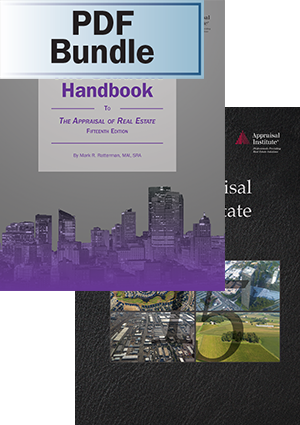 The Appraisal of Real Estate, 15th ed. + The Student Handbook - PDF Bundle